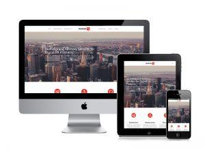 Modular FX website design