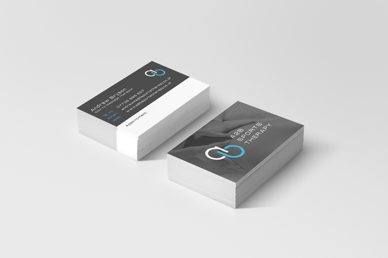 Sports Therapy Business Card
